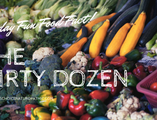 Friday Fun Food Fact:  The Dirty Dozen & the Clean Fifteen