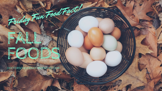 Friday Fun Food Facts: Fall Foods